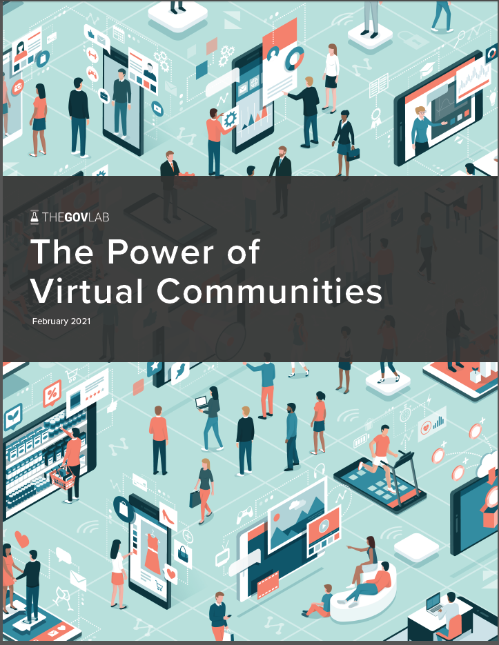 The GovLab | The Power of Virtual Communities