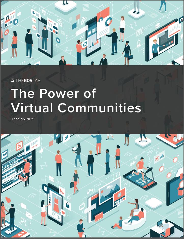 The GovLab | The Power of Virtual Communities